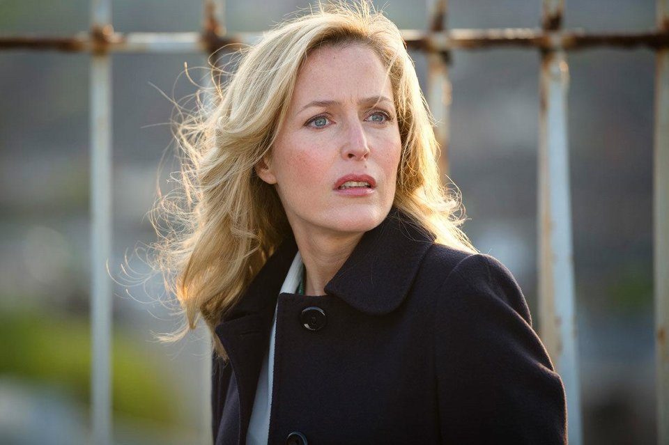 "Gillian Anderson stars in ""The Fall,"" a hit BBC series which debuts exclusively on Netflix on Tuesday. <strong></strong>"