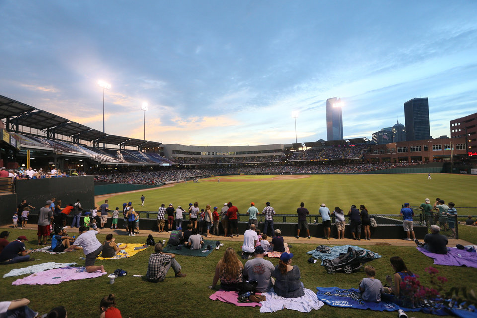 Photo - The ballpark has become an important piece of OKC's fabric. Photo OKC Dodgers.
