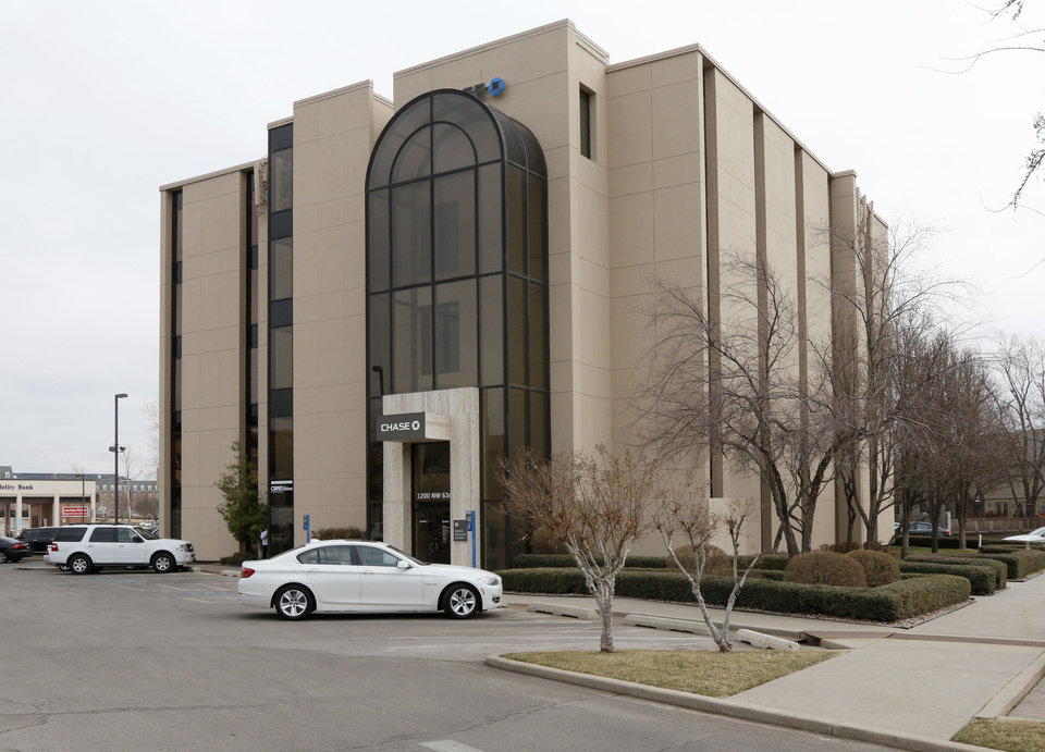 Photo -      This is the Chase Bank in Oklahoma City. Chesapeake Energy sold the property for $3.95 million in January.    PAUL HELLSTERN -  Oklahoman
