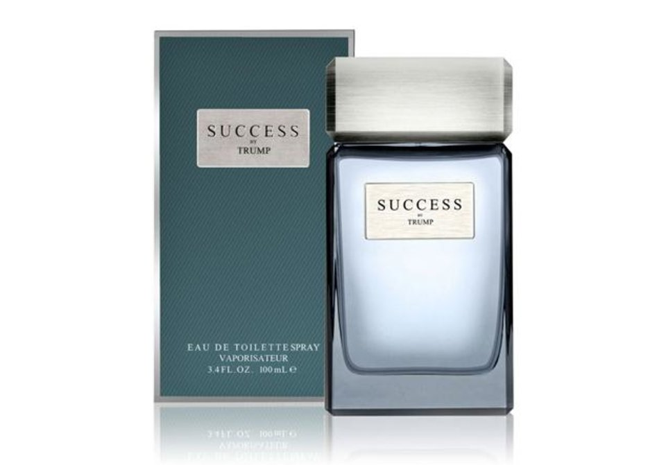 Photo - Donald Trump's new scent, Success, contains hints of juniper, red currant, and coriander, and is sold in Macy's.