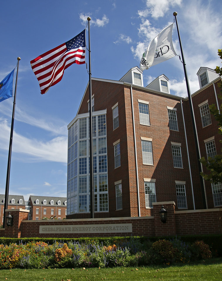 Photo - Chesapeake Energy Corp. campus is seen in 2013. [Bryan Terry/The Oklahoman]