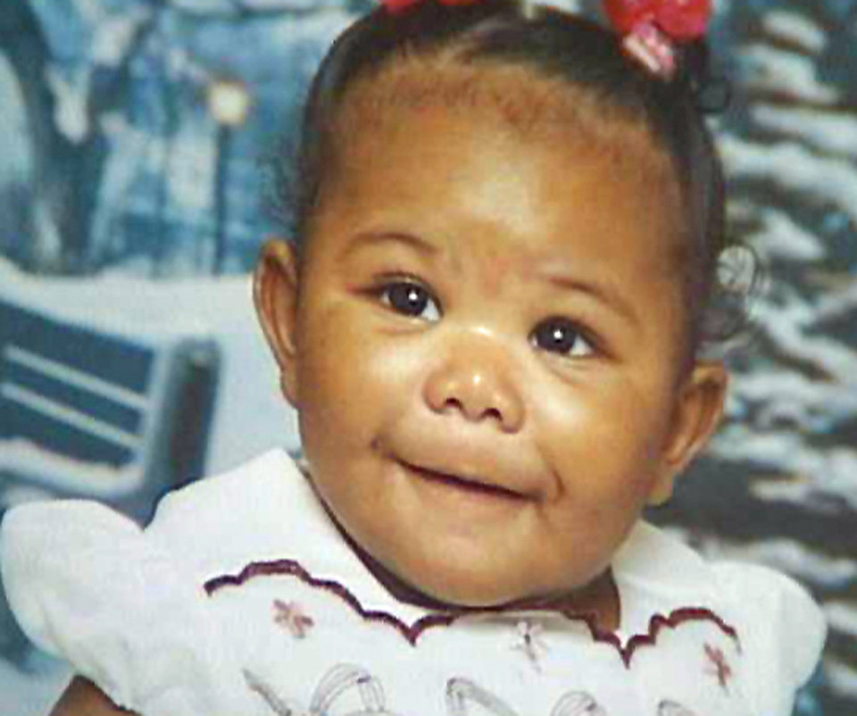 Photo - Isjanna James was taken in serious condition to The Children's Hospital at OU Medical Center, Master Sgt. Gary Knight said. The 8-month-old girl was shot early this morning in an apparent drive-by shooting in the 4200 block of NE 16 in Oklahoma City, police said.