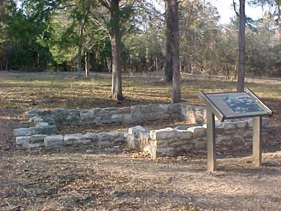 The ruins at Doaksville, once the largest town in Indian Territory, are a rich source of archaeological history. PHOTO PROVIDED.