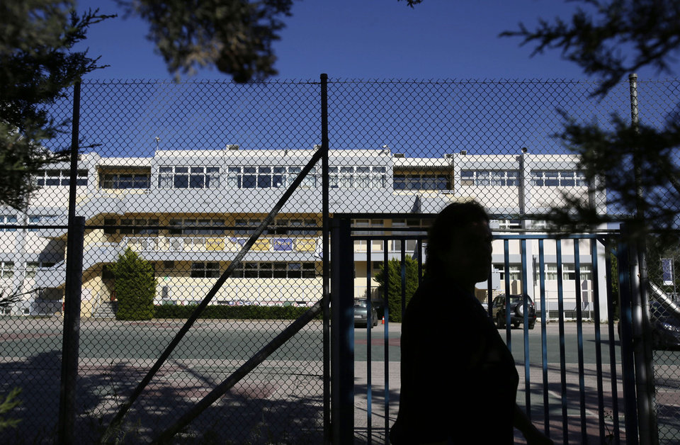 Photo - This Thursday, May 9, 2014 photo shows the American Community School in northern Athens, Greece where William Vahey taught.  When a maid stole a memory drive from him in November, on it was evidence that Vahey molested scores of adolescent boys, possibly more. The discovery of a man the FBI regards as one of the most prolific pedophiles in memory has set off a crisis in the community of international schools, where parents are being told that their children may have been victims, and administrators are scurrying to close loopholes exposed by Vahey's abuses. (AP Photo/Thanassis Stavrakis)