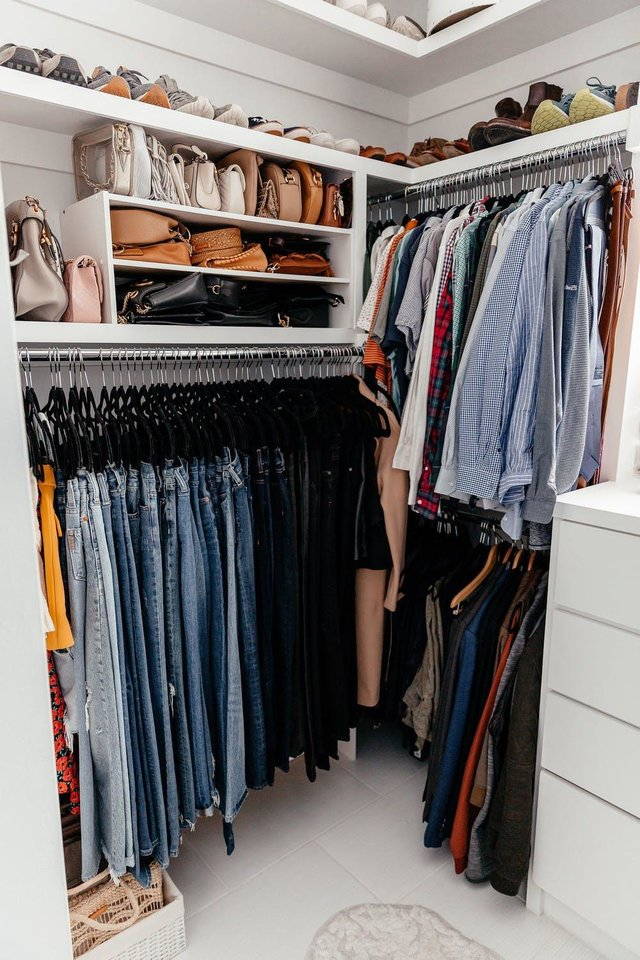 Photo - Easy tips can take your closet from overwhelming to organized.