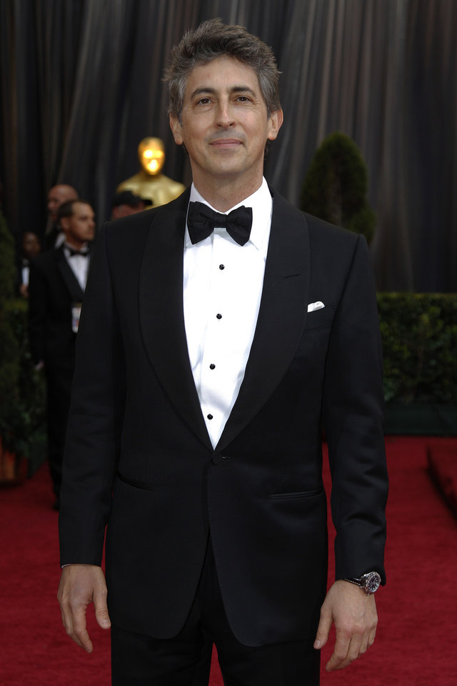 Alexander Payne arrives before the 84th Academy Awards on Sunday, Feb. 26, 2012, in the Hollywood section of Los Angeles. (AP Photo/Amy Sancetta) ORG XMIT: OSC376