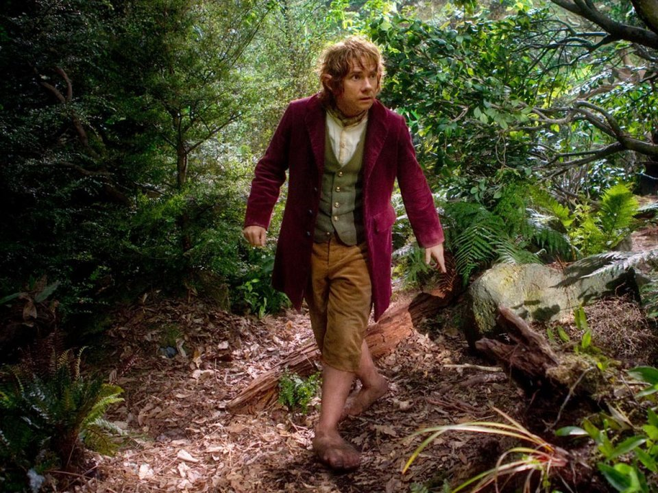 "Photo - Martin Freeman stars as Bilbo Baggins in the fantasy adventure ""The Hobbit: An Unexpected Journey."" Warner Bros. photo"