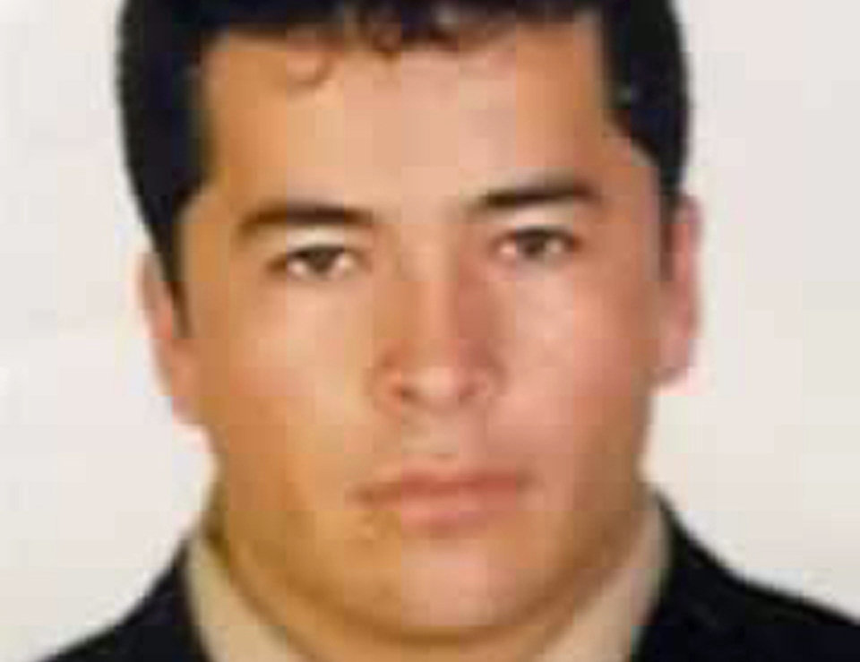 ALTERNATIVE CROP OF XLAT102 - FILE - This undated file photo, downloaded from the Mexico's Attorney General's Office most wanted criminals webpage on Nov. 2, 2010, shows alleged Zeta drug cartel leader and founder Heriberto Lazcano Lazcano in an undisclosed location. The Mexican navy says on Monday, Oct. 8, 2012, Lazcano has apparently been killed in a firefight with marines in the Mexican northern border state of Coahuila. (AP Photo/Mexico's Attorney General's Office, file)