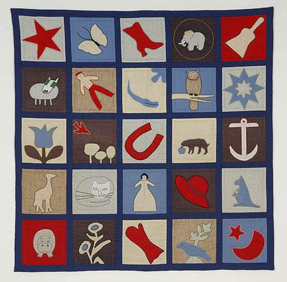 Florence Potter Hughes' quilt - Babar<br/><b>Community Photo By:</b> Barbara Hughes Hosein<br/><b>Submitted By:</b> Linda, midwest city