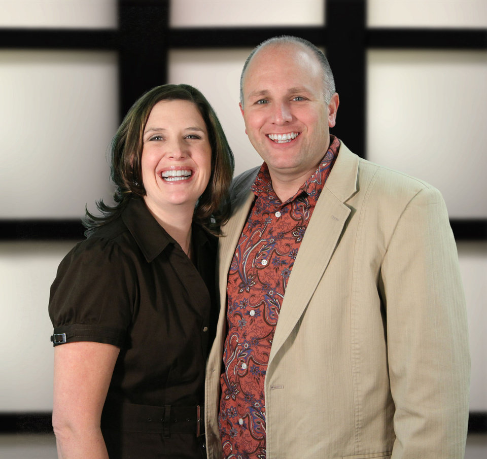 Photo - The Rev. Ted Miller, shown with his wife, Tami, is pastor of Crossroads Church .  Photo provided
