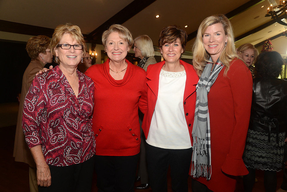 Ellen Morgan, Sharon Wade, Jill Brown, Becky Denny. Photo by David Faytinger, for The Oklahoman  <strong></strong>