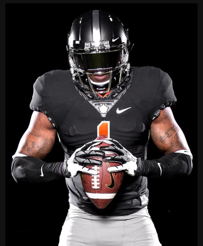 Oklahoma state football uniform combinations