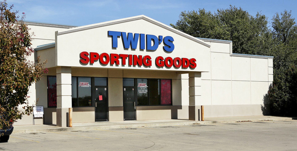 Twid\'s Sporting Goods, at 6001 SE 15 in Midwest City, closed last month after serving the Mid-Del and Eastern Oklahoma County for several decades. Jim Beckel - THE OKLAHOMAN