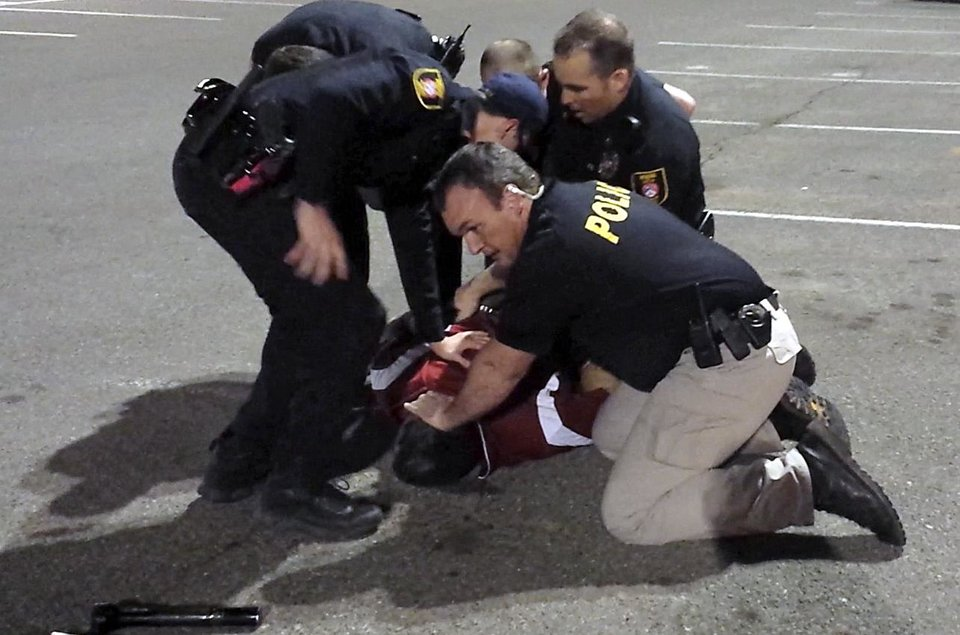 Photo - cell phone video screen capture