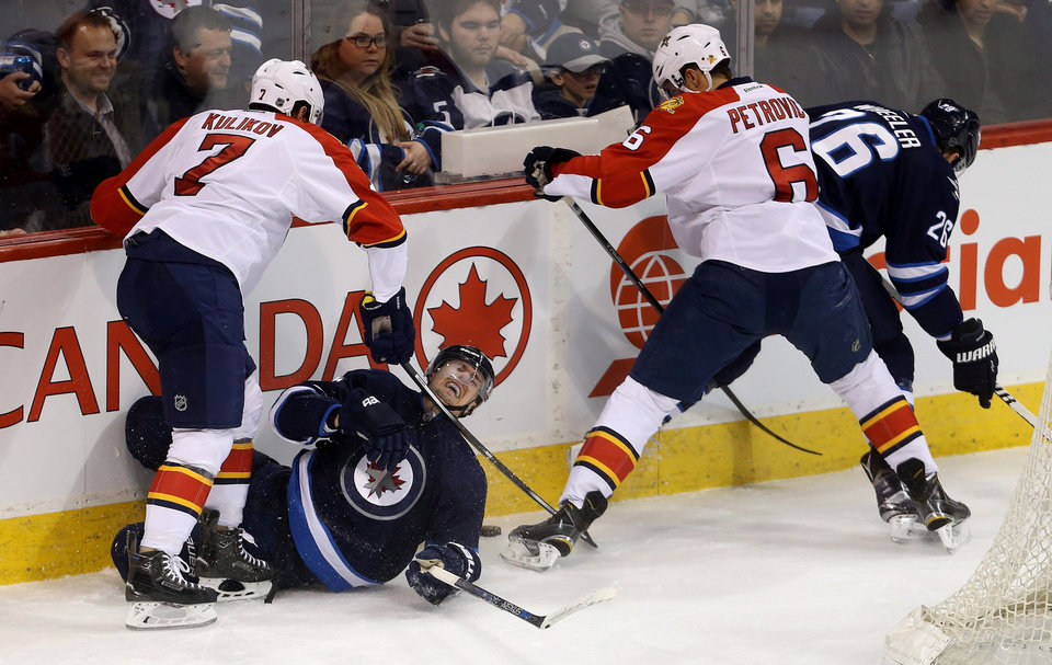 Reilly Smith Scores 2 Goals To Lead Panthers Past Jets 3