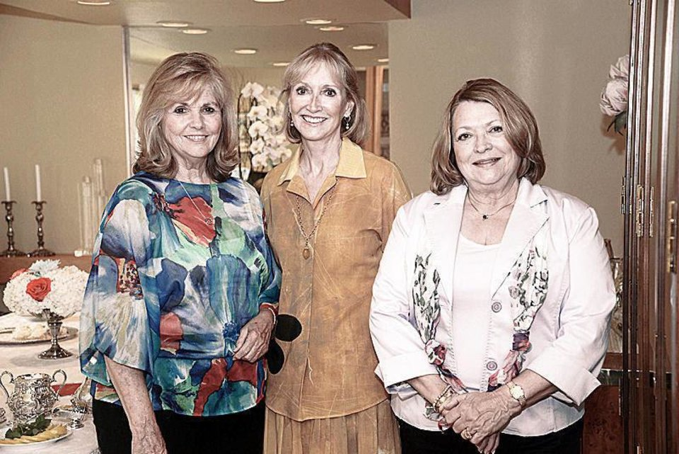 Photo - Sylvia Shirley, Leanne Waddell, Barbara Boggs. Photo by David Faytinger, for The Oklahoman