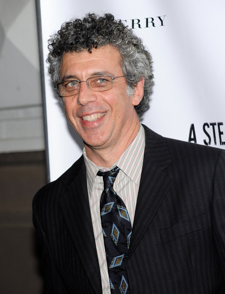 "FILE - This Sept. 29, 2009 file photo shows actor Eric Bogosian at the Broadway opening night of ""A Steady Rain"" in New York. The former monologist who used to speak about substance abuse and dangerous sex has been sifting through two decades of work for an upcoming book ,""100 Monologues,"" and new a one-man show, ""100 (Monologues)"" at the Labyrinth Theater Company. (AP Photo/Evan Agostini, File)"