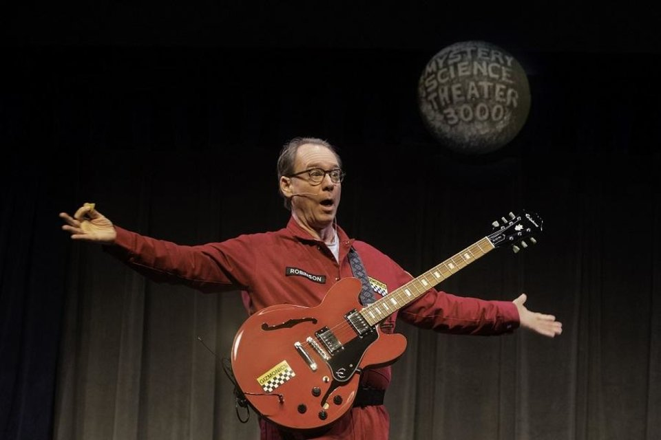 Photo - Joel Hodgson returns as Joel Robinson in