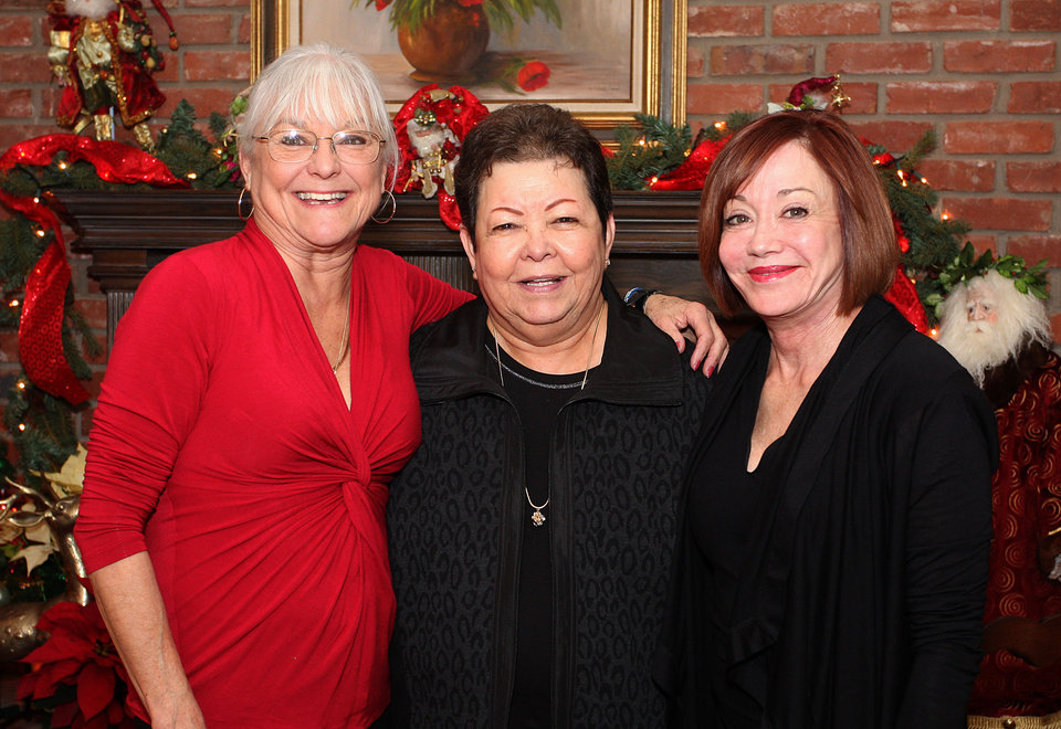Photo - Rawsie Boyles, Tina Stubbs, Connie Givens. Photo by David Faytinger for the Oklahoman