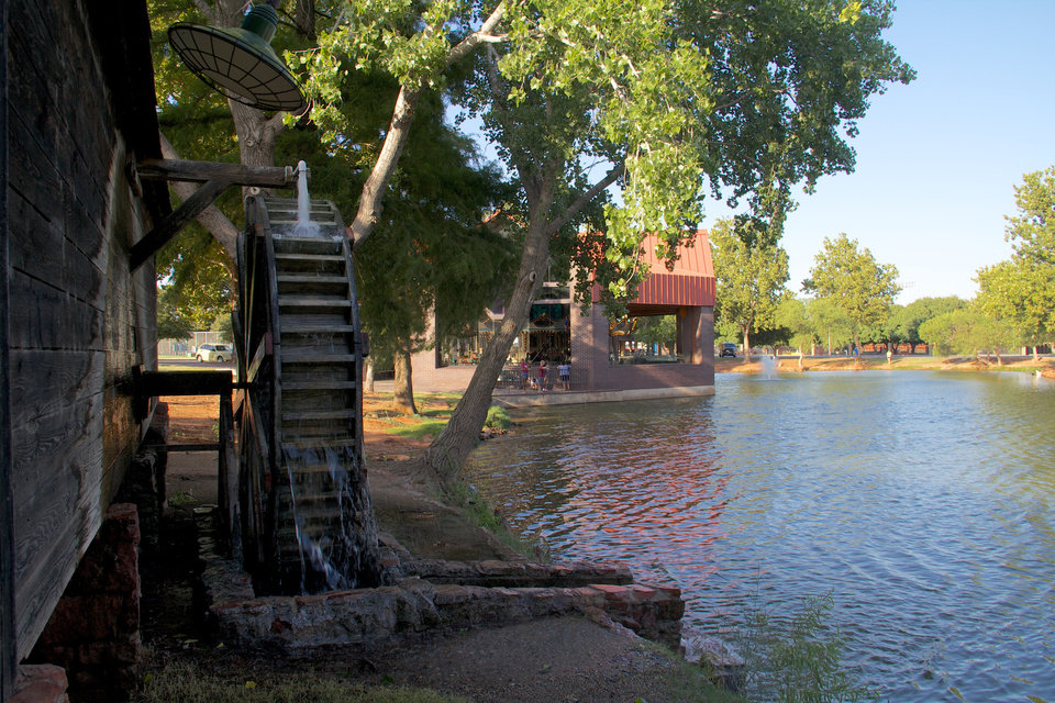 Photo - This file photo by Adam Wilmoth from 2012 shows Ackley Park in Elk City. (THE OKLAHOMAN)
