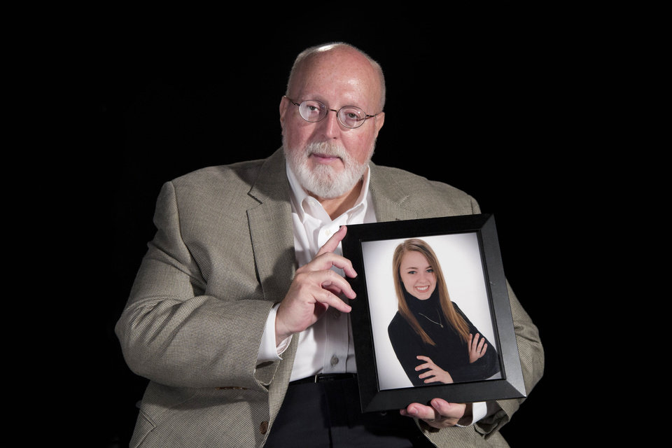 Photo - Keith Swezey's daughter was killed in 2009 by a drunk driver going the wrong way on Kilpatrick Turnpike. The Swezey family has worked with the legislature, and in 2011 the Erin Swezey Act was passed. Photo by Todd Fraser/The Oklahoman