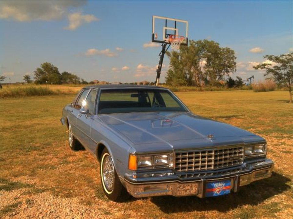 The Caprice is ever-so-slightly Thundered Up