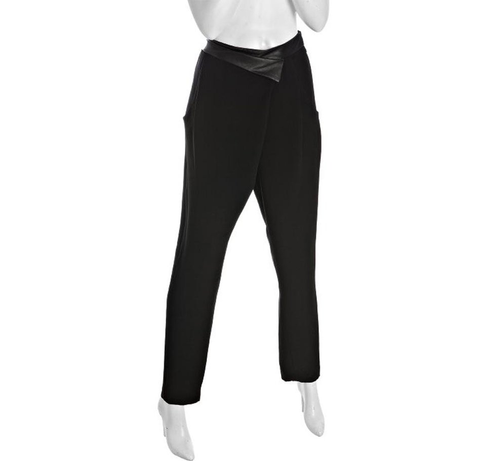 Get the look Kristen Stewart has been sporting at recent movie promo events with these Mark & James by Mdgley Mischka black woven pants. ($49.97 at Bluefly.com) (Bluefly.com/LA Times/MCT)