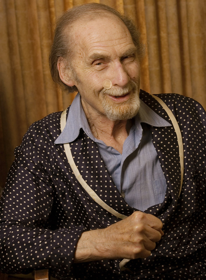 Photo - FILE - This Sept. 28, 2005 file photo shows actor Sid Caesar at his home in Beverly Hills, Calif.  Caesar, whose sketches lit up 1950s television with zany humor, died Wednesday, Feb. 12, 2014. He was 91. (AP Photo/Damian Dovarganes, File)
