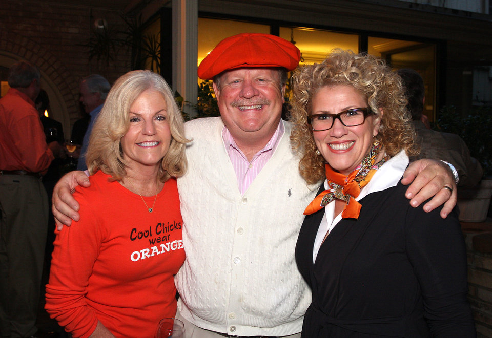 Photo - Ann Ackerman, Bob and Lauren Hammack. PHOTOS BY DAVID FAYTINGER, FOR THE OKLAHOMAN