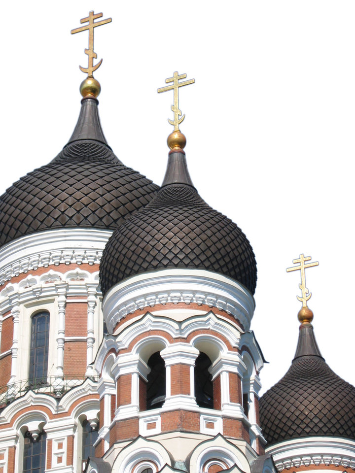 Photo - ESTONIA: Rich in architectural detail, Alexander Nevsky Cathedral looms over Tallinn. BY CHARLIE PRICE, FOR THE OKLAHOMAN ORG XMIT: 0710251802490208