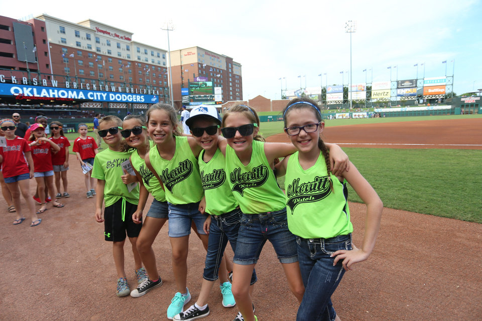 Photo - The ballpark is fun for all ages. Photo OKC Dodgers.
