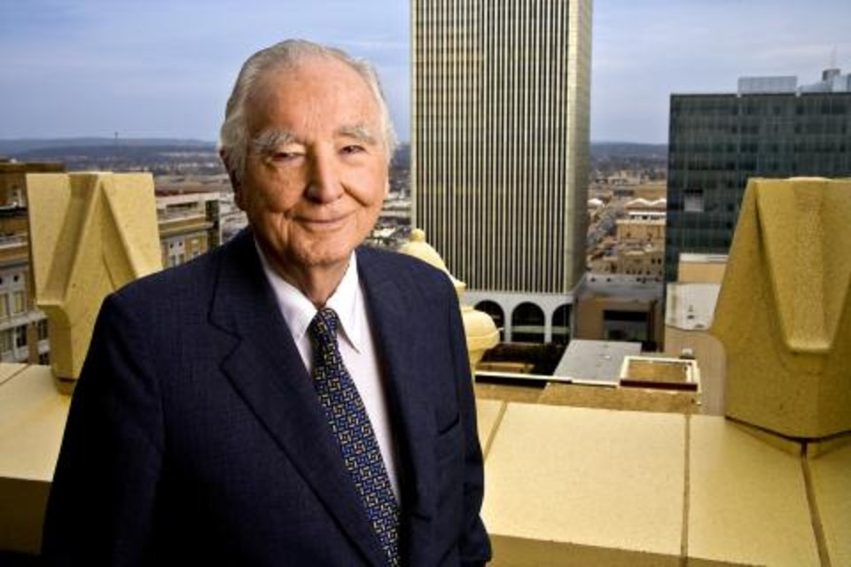John H. Williams, who was CEO for the Williams Cos. Inc. from 1949 until 1979, died Wednesday. Photo provided