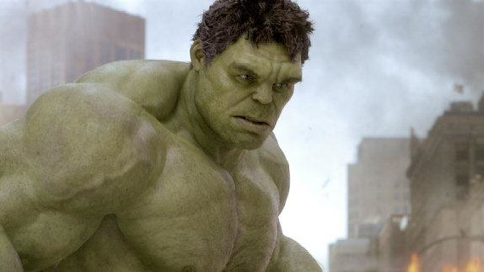 "The Incredible Hulk (voiced by Lou Ferrigno) appears in Walt Disney Pictures' ""The Avengers."" <strong></strong>"