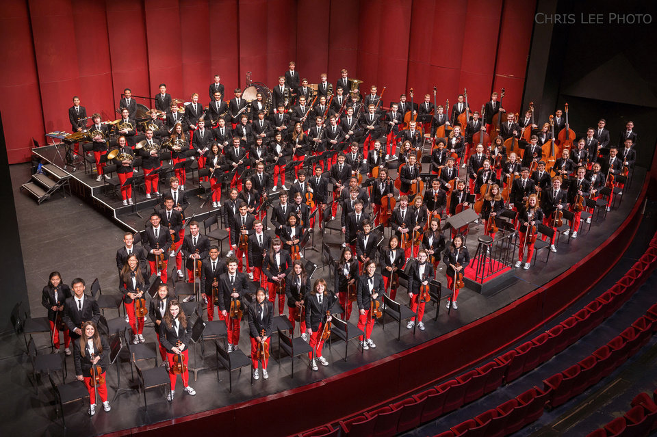 Photo - The 2013 National Youth Orchestra of the United States of America.   Photo by Chris Lee  Chris Lee