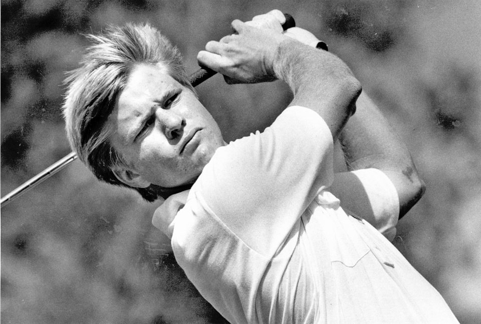 Photo - OKLAHOMA STATE GOLFER: Former OSU star, Scott Verplank is back on track after winning $12,500 at Bay Hill. - File Photo  (Original photo taken August 31, 1984, ran March 27, 1988)  Staff Photo by Doug Hoke