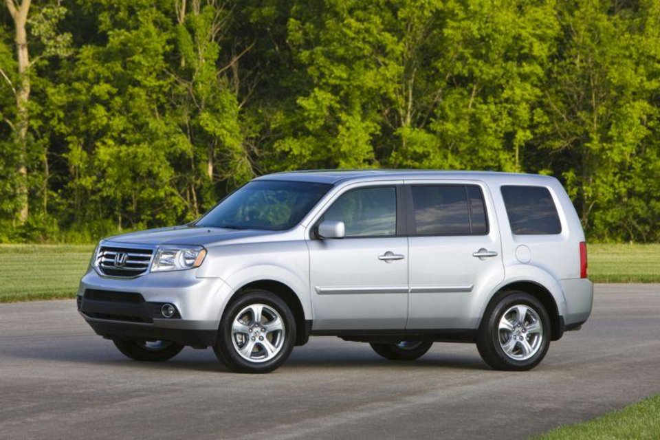 This undated image provided by Honda shows the 2013 Honda Pilot. (AP Photo/Honda)