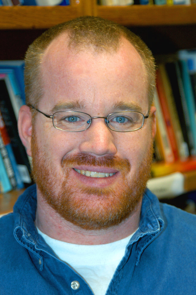 Pictured is Dr. John Wood, 2007 Political Science Teacher of the Year.<br/><b>Community Photo By:</b> Steve Reeves<br/><b>Submitted By:</b> Donna, Choctaw