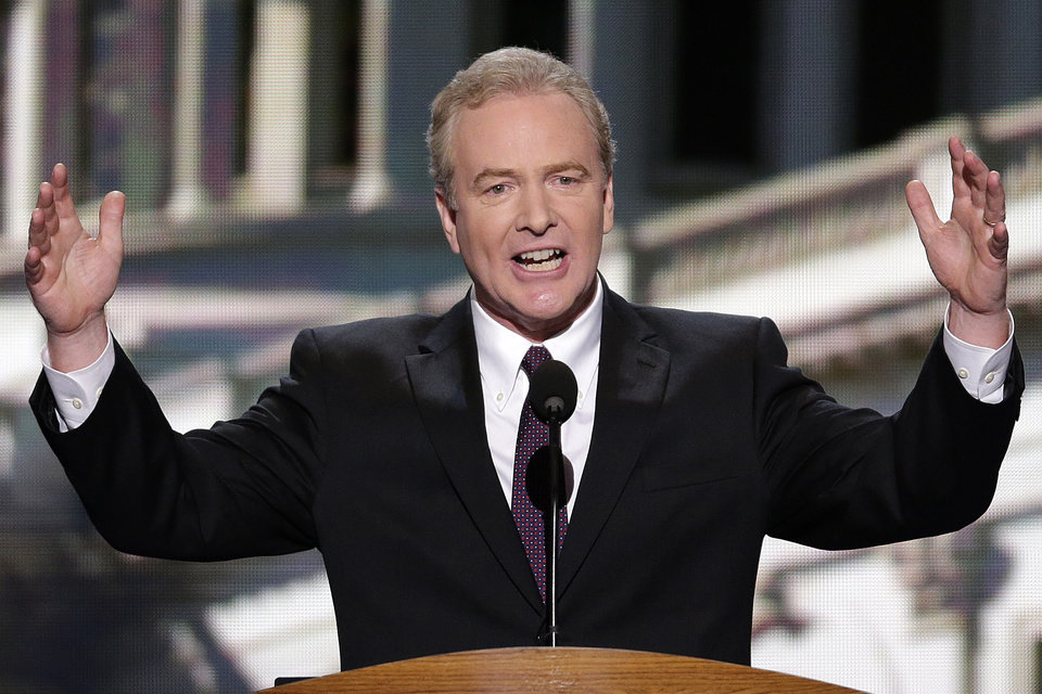 Photo - Rep. Chris Van Hollen of Maryland addresses the Democratic National Convention in Charlotte, N.C., on Wednesday, Sept. 5, 2012. (AP Photo/J. Scott Applewhite)  ORG XMIT: DNC168