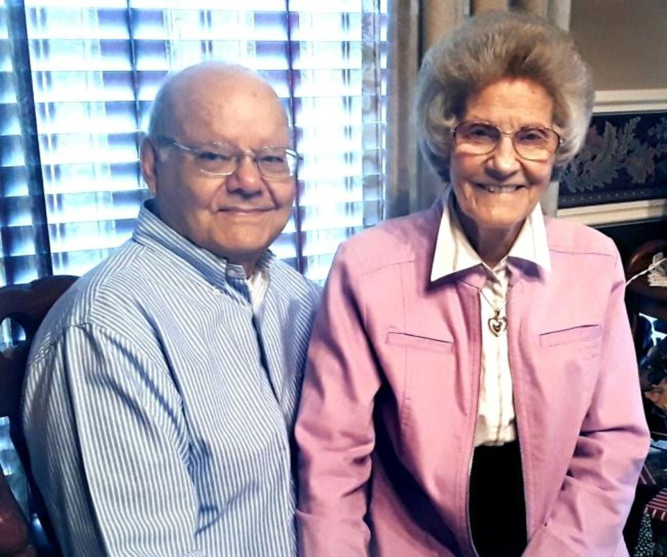 Photo -  60 years: Charles and Ruth Brady, of Oklahoma City, were married June 27, 1959, in Altamahaw, North Carolina.