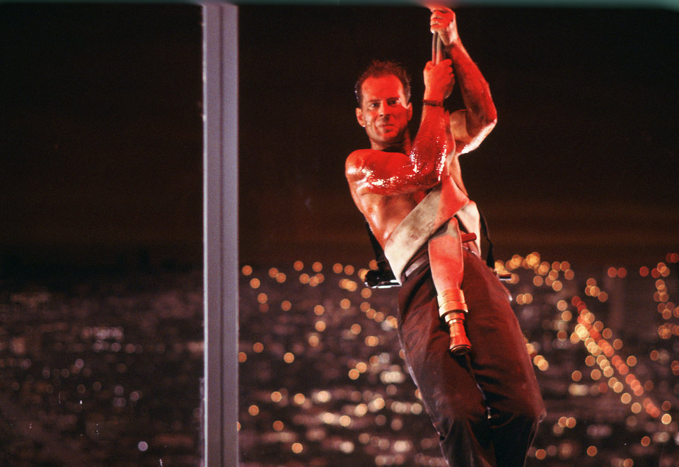 Photo - This publicity photo released by Twentieth Century Fox Home Entertainment shows Bruce Willis in a scene from the 1988 film,