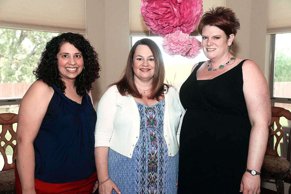 Photo - Lee Camargo-Quinn, Pam Campbell, Carol Plemmons. Photo by David Faytinger, for The Oklahoman