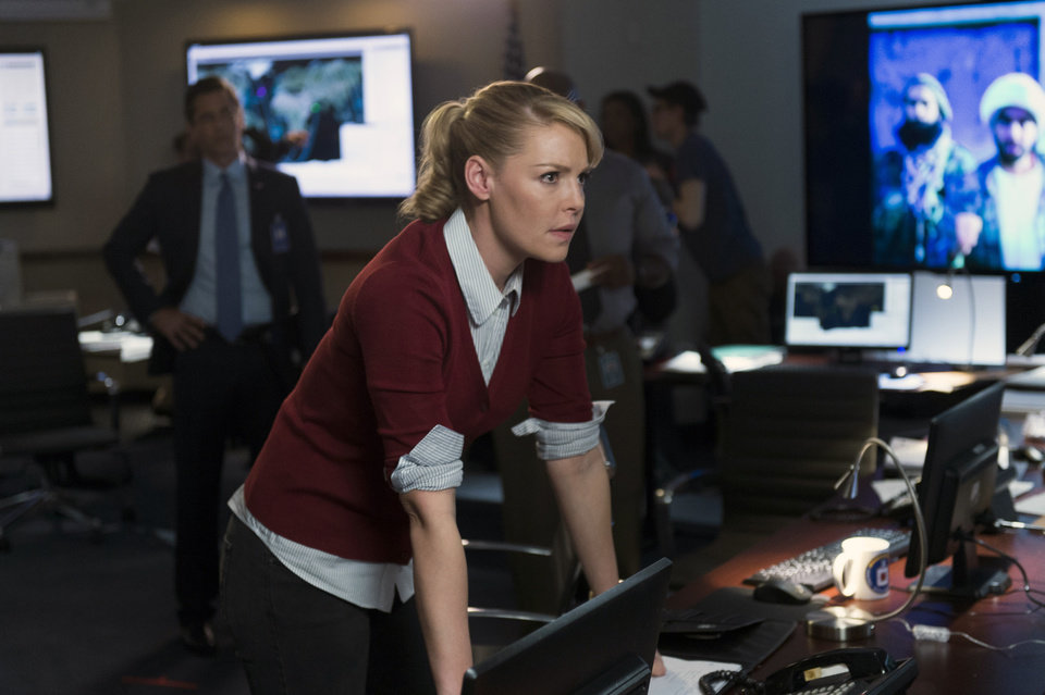 Photo - In this photo provided by NBC, Katherine Heigl portrays CIA agent Charleston Tucker in NBC's new series,