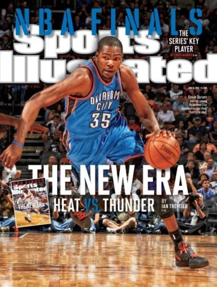 The last time Kevin Durant was on the cover of Sports Illustrated, he agreed to pose only if teammates Thabo Sefolosha and Nenad Kristic.