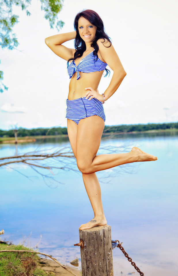 Photo - Arcadia Lake, Edmond Swimsuit from L.A. Sun & Sport  Photos by Chris Landsberger   Vote for your favorite model now