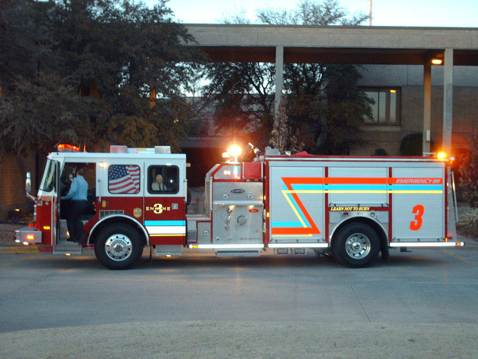 On Tuesday Midwest City chrisened its newest fire truck to keep MWC the only community in Oklahoma with a number 1 ISO rating.<br/><b>Community Photo By:</b> Glenn Goldschlager<br/><b>Submitted By:</b> Glenn, Midwest City