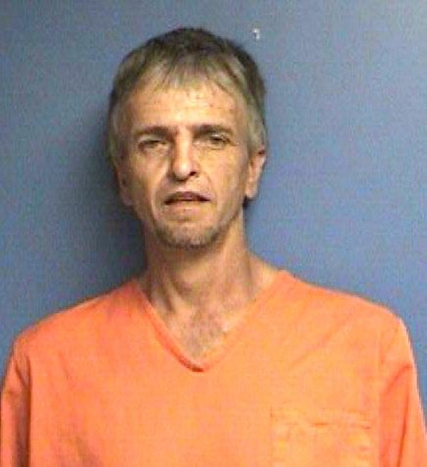Photo - Timothy Morse, 47, of Oney was arrested Tuesday during a drug raid in Caddo County.