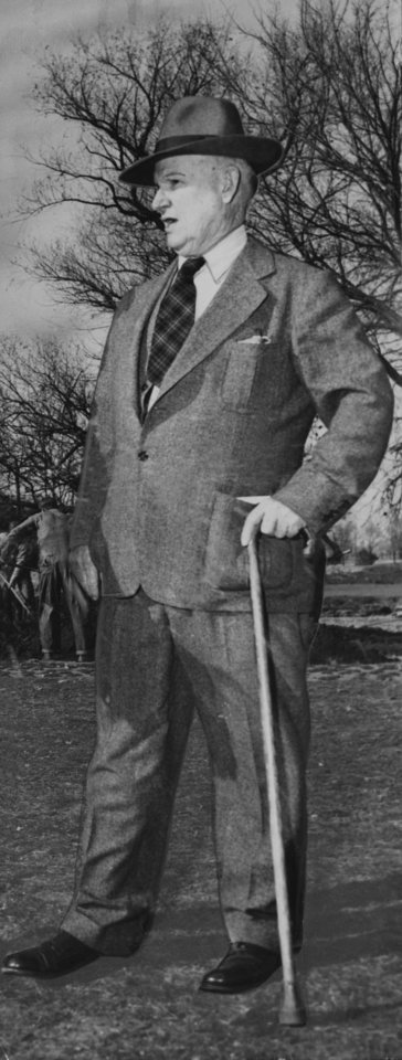 Photo - Perry Maxwell, in this undated photograph. Maxwell was posthumously inducted into the Oklahoma Sports Hall of Fame on March 20, 2012.