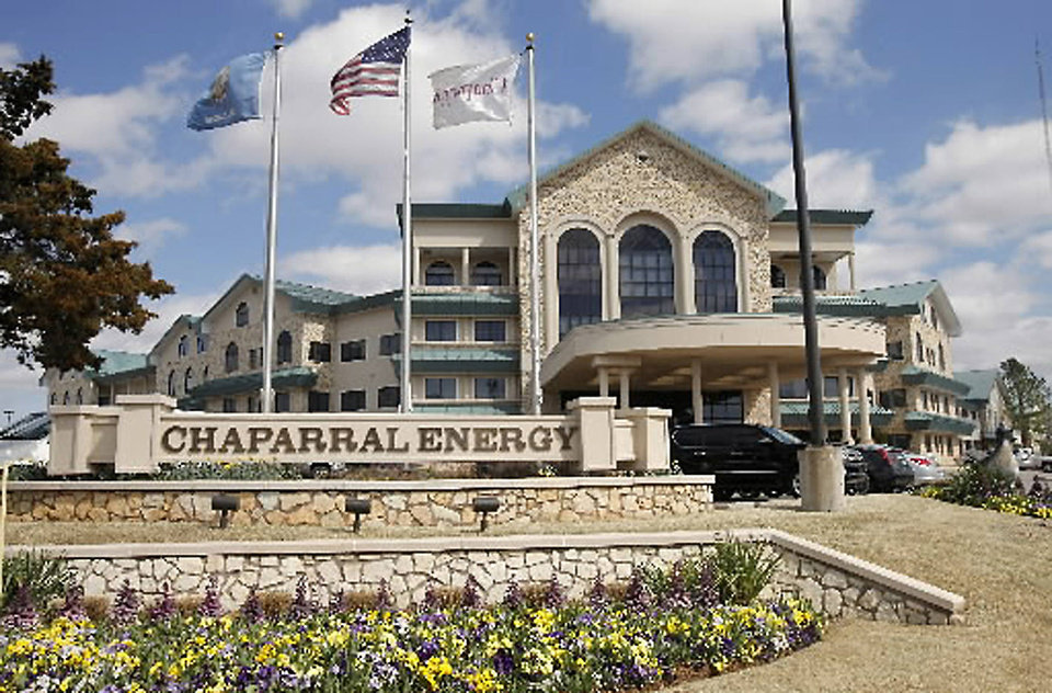 Chaparral Energy Inc.'s headquarters in Oklahoma City is pictured in March. <strong>Paul B. Southerland - The Oklahoman archives</strong>