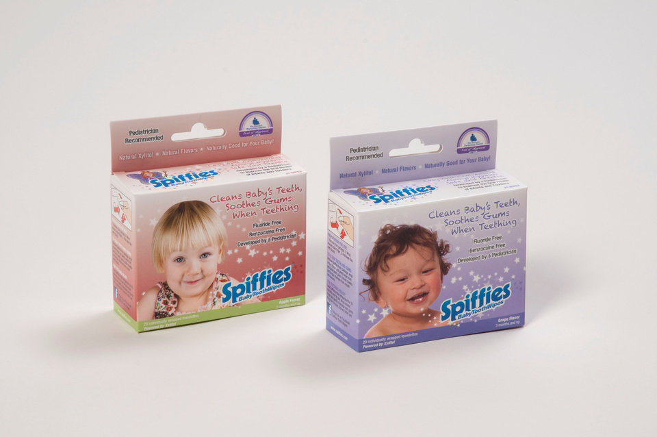 Photo -  Spiffies Cleaning and Teething Wipes
