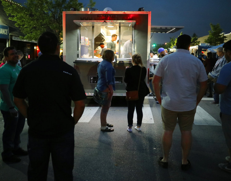 Photo - Mob Grill is a popular mobile kitchen at Heard on Hurd and other local festivals and street parties. [Doug Hoke, The Oklahoman]